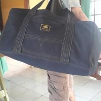 Tas Travel bag bahan jeans ukuran Jumbo