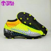 Sepatu Bola Dewasa Nike Mercurial Neymar Boot Hijau Stabilo Hitam Silv