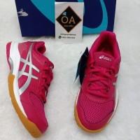 Dijual Sepatu Asics Gel- Rocket 8 Women Running Shoes Original 100%