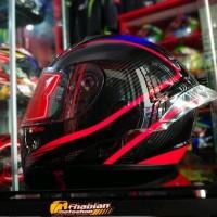 Spoiler Helm RSV FFZERO model Pista GPR Bahan POLYCARBONATE Free