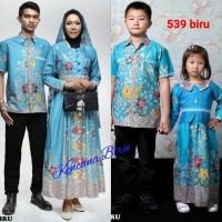 kewek 539 couple batik keluarga dewasa XXL/anak 1-5 thn/sarimbit baju