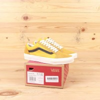 Sepatu Vans Old Skool LX Gold Black Premium BNIB Sneakers Pria