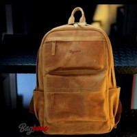 Milenials Backpack Crazy Horse Leather