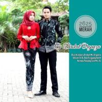 Batik Couple Sarimbit Kebaya Brokat Organza Set