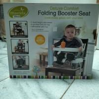 BNIB mastela folding booster seat kursi makan baby bayi
