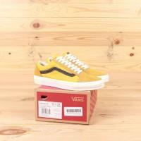 Sepatu Sneakers Pria Vans Old Skool LX Gold Black Premium BNIB