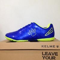 Sepatu Futsal Kelme Star 9 Royal Blue 550111 Original BNIB