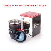 Lens mug Gelas Lensa Kamera Canon Camera Cup Lens STAINLESS Tumbler - 24-105mm