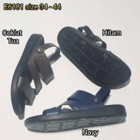 Sandal Gunung - jelly sandal pria luofu sendal tali cowok karet import