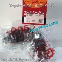 BALL JOINT BAWAH TOYOTA VIOS LIMO YARIS - 555 SB-3602 ASLI JAPAN