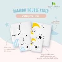 Bamboo Double Sided Waterproof Pad Mom's Nature / Perlak Bayi (Small)