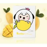 Puttisu Masker Wajah Anak Manggo Real Fruits Sheet Mask