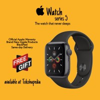Apple Watch / iWatch Series 5 44mm Black Sport Band MWVF2