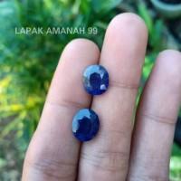 Batu Permata Natural Blue Safir - Natural Blue Sapphire