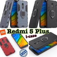 Jualan Xiaomi Redmi 5 Plus Case Iron Armor I-Ring - Casing Cover Redmi