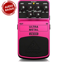 BEHRINGER UM300 Heavy Metal Distortion Stompbox / Pedal Efek Gitar