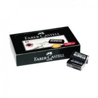 Faber Castell Eraser Dust free Hitam ( Art. 187294 )