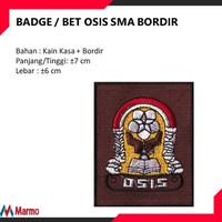 BADGE / BET OSIS SMA BORDIR