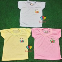 (ISI 3 PC) Kaos Oblong Bayi 0-6 Bulan / Baju Baby Perempuan Laki Pakai