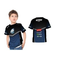 Kaos Baju Tshirt Anak Jersey Gaming EVOS Esport Custom Fullprint