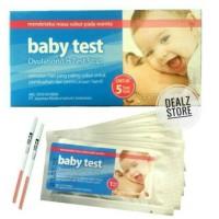 Baby test 1 Box onemed alat tes masa subur wanita