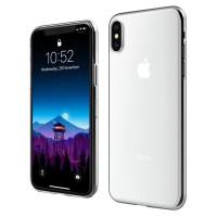 ASENARU iPhone XS Max Softcase - Super Slim ClearFlex Casing - Crystal