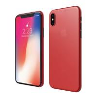 ASENARU iPhone XS Casing - Super Slim Signature Case - Asenaru Red
