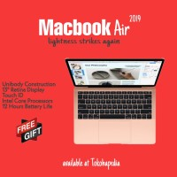 Apple MacBook Air 2019 13 256GB 1.6GHz MVFN2 MVFJ2 with TouchID