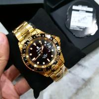 Bapex Watch By Bathing Ape 01 Full Gold (Bape Watch Series)