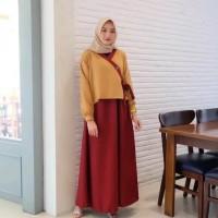 baju muslim gamis HANURA MAXI dress muslim