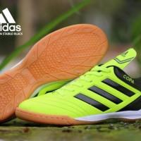 HOT SALE Sepatu futsal adidas copa teralaris - Hijau stabilo, 39