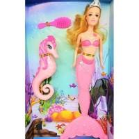 Dijual Mainan Boneka Barbie Putri Duyung - Mermaid (Biru & Ungu) Tbk