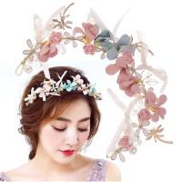 Hairpiece Aksesoris Hiasan Rambut Wanita Bando Bunga Flower Crown