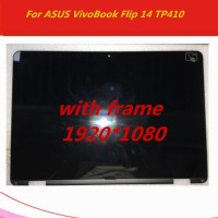 With frame 14'' For ASUS VivoBook Flip 14 TP410 TP410UA TP410U lcd di
