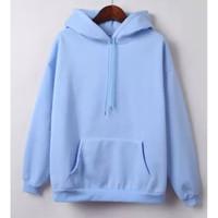 DaveFashion - Sweater Hodie Wanita Lengan Panjang KINGSSS Basic AK52