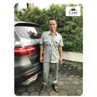 Baju Seragam Safari / Setelan Security / Satpam / Seragam Supir PO