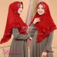 Jilbab Shakina Segi Tiga Instant Trisha / Hijab Wanita Murah