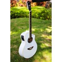 Gitar Akustik Apx 500 ii White Equalizer EQ 7545 Free Tas dan Pick
