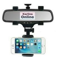 Car Holder Tempat Dudukan Pegangan HP GPS Di Kaca Spion Tengah Mobil