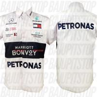 Baju Kemeja Pria F1 Mercedes AMG Petronas 2019 Kode CKD015