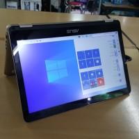 Asus x360 ultrabook intel core m3 atau i3 mobile 8gb 256gb ssd full hd