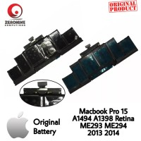 Battery Apple MacBook Pro 15 Retina A1398 A1494 Late 2013 Mid 2014