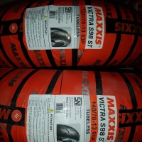 Maxxis Ban Lebar Yamaha Nmax Dpn Dan Blk uk 140/70-13 & 120/70-13