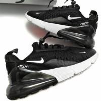 Sepatu Anak Kids toddler Nike Air Max 270 Black White Ukuran 24 - 31