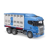 Bruder Toys 3549 - Scania R-Series cattle transportation with 1 cattle