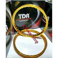 Velg TDR ring 17 model kotak W shape lebar 140-160 ring 17 isi dua bij