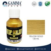 TOP GOLD Metallic Paint - YELLOW GOLD 120gr