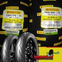PAKET BAN PIRELLI DIABLO ROSSO SPORT 120/70 & 150/60 RING 17