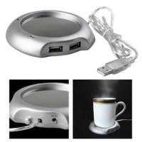 Tatakan Gelas Pemanas Kopi USB Coffee Cup Warmer Pad