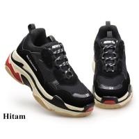 Sepatu Sneakers Pria Sol Tebal Sepatu Balenciaga Inspired